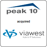 Peak 10, Inc.,  will acquire ViaWest