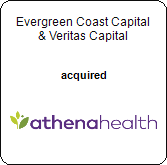 Evergreen Coast Capital, Veritas Capital,  acquired athenahealth, Inc.