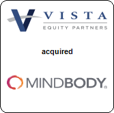 Vista Equity Partners,  acquired MINDBODY Inc.