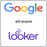 Google,  will acquire Looker