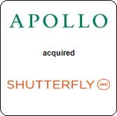 Apollo Global Management,  will acquire Shutterfly, Inc.