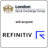 London Stock Exchange Group plc,  will acquire Refinitiv