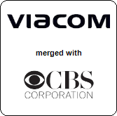 CBS Corporation will be merged with Viacom Inc.,